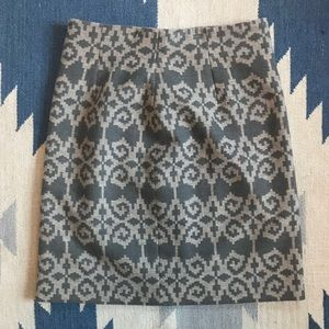Pendleton (Portland Collection) wool skirt.